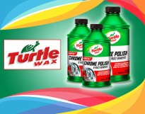 TURTLE WAX® CHROME POLISH & RUST REMOVER 12 FL.OZ. SUPERIOR CLEANING POWER TO REMOVE SURFACE RUST AND GRIME TO A LIKE-NEW CONDITION