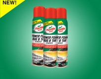 TURTLE WAX ® POWER FOAM BUG & TAR REMOVER CLING, PENETRATE & DISSOLVE THE TOUGHEST MESSES